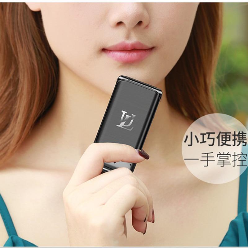 Ulcool V9  New Original Smalllest Flip CellPhone 1.54
