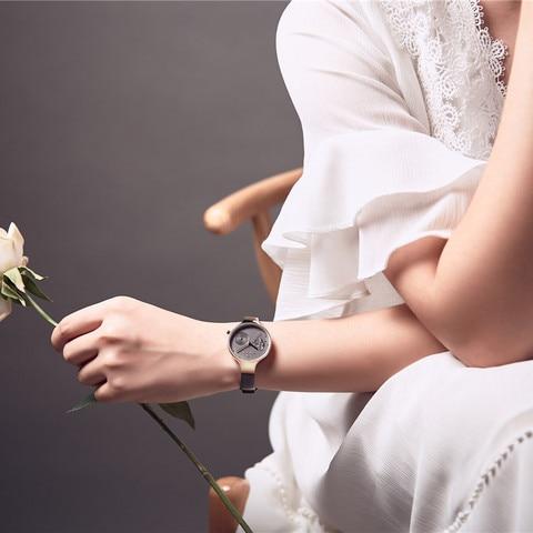 NAVIFORCE Women Watches Luxury Brand leather Ladies Quartz Women Watches 2019 Sport Relogio Feminino Montre Femme Wrist Watch Karachi