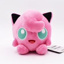 Anime Cute Pink Jigglypuff Peluche Plush Stuffed Toy Soft Doll Toys For Children Birthdays Gifts