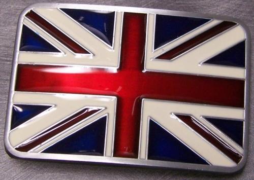 custom belt buckles low price OEM National Flag of Great Britain belt buckles hot sales factory produce  belt buckles