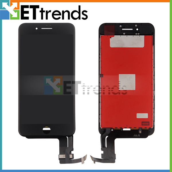 2PCS/LOT No Dead Pixel Original  LCD Touch Screen Assembly ReplacementFor iPhone 7 Plus Black & White DHL Free Shipping
