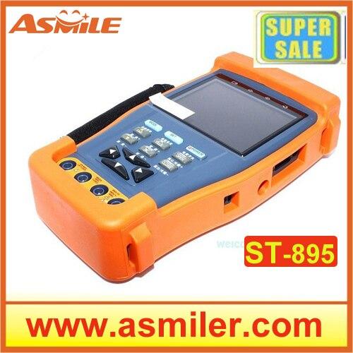 Multi-function Portable CCTV Tester 895 w/ PTZ Controller for CCTV Camera Fiber Optic Power Meter from asmile