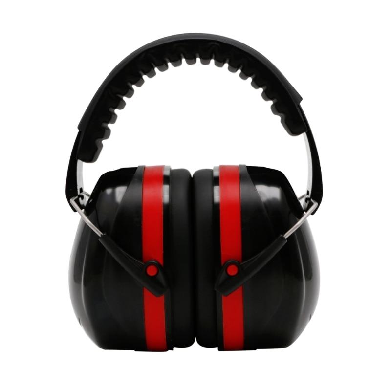 KLV Noise Reduction Folding Headband Earmuffs Hearing Safety Muffs Sound Insulation