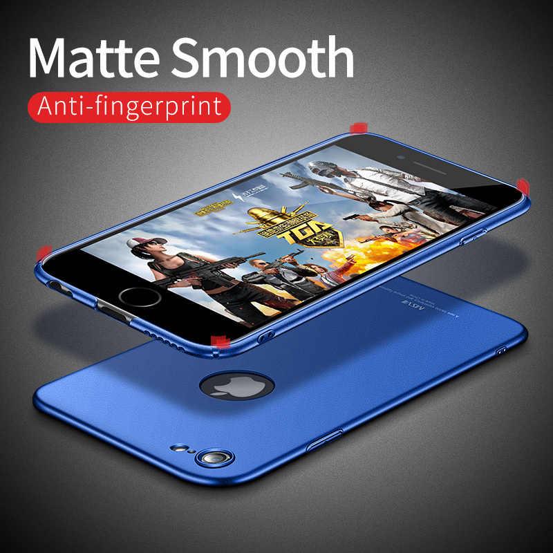 Чехол для iPhone 6 6S чехол для Apple iPhone 6 S 6S Plus чехол Msvii роскошный тонкий 360 полная защита PC матовый жесткая задняя крышка