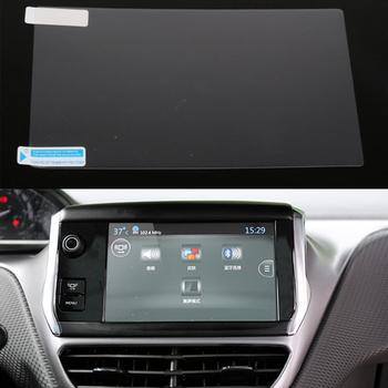 Car GPS Navigation Screen Film For Peugeot 3008 408 508 For Citroen C4 C3 C5 DVD Screen Protective Anti Scratch Film Car Styling image