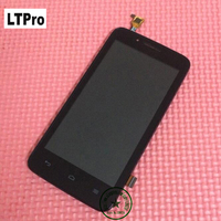 4 5 Black White Mobile Parts Y511 LCD Screen Display With Touch Screen Digitizer Assembly With
