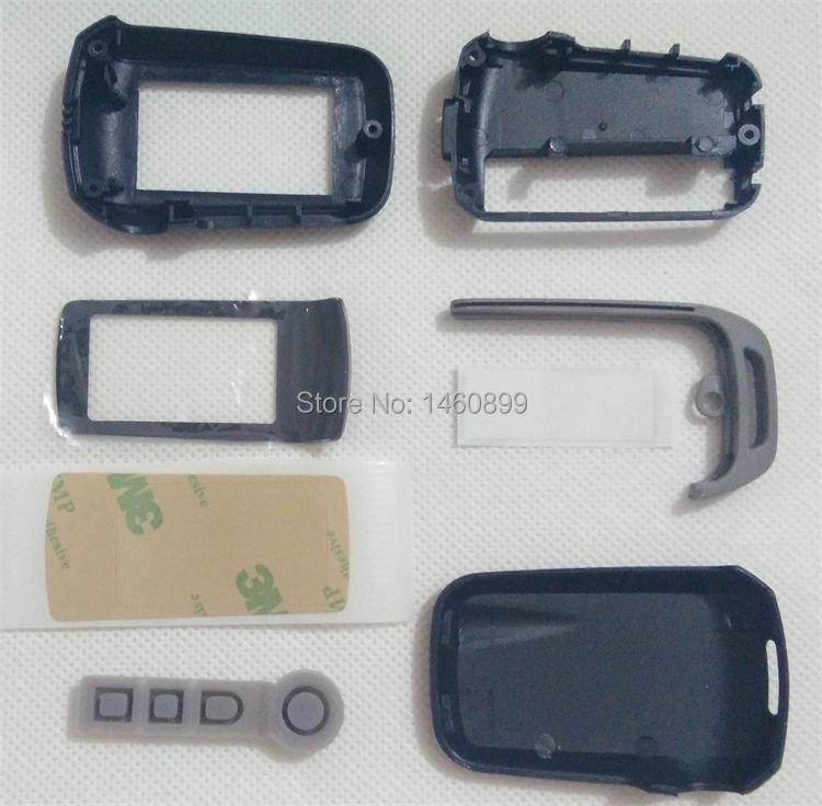 Wholesale Keychain Case for Russian version A92 A62 A64 lcd remote control key two way car alarm system