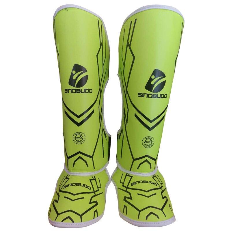 SINOBUDO MMA protecteurs de boxe protecteurs de pied adultes Sanda combat Sport accessoires de protection matériel en caoutchouc de coton de haute qualité