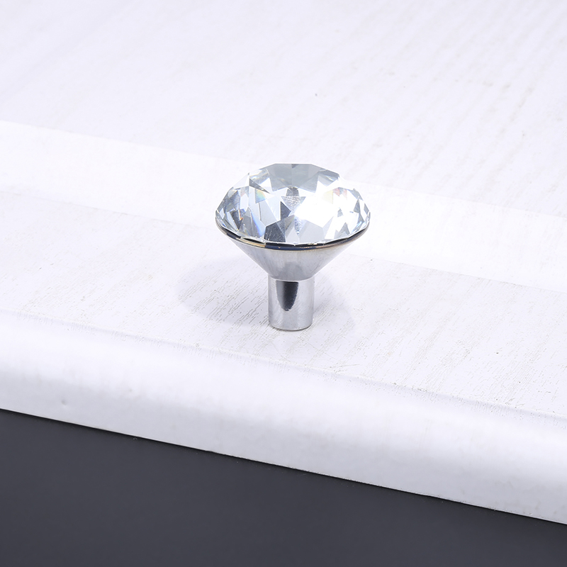 Luxury Diamond Crystal Handles Shoebox Cabinet Handles (4)