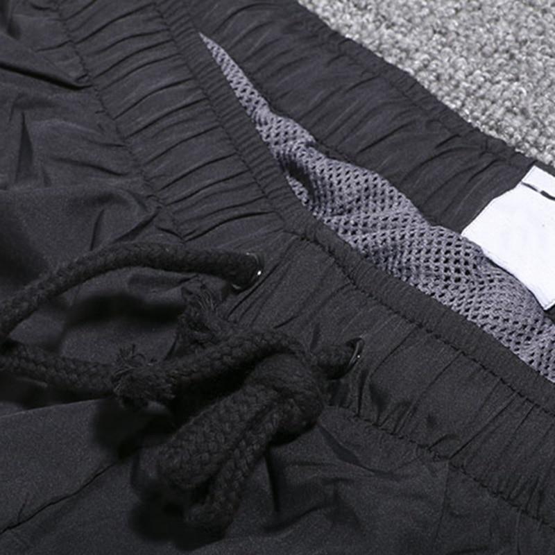 Image 3 - summer men pants 8XL 9XL 10XL 12XL black color plus size big 8XL  Breathable loose waterproof pants Straight Trousers 150KG 160KG  -