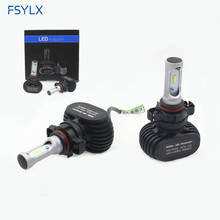 72W 16000lm LED Head light Conversion kit car auto daytime driving fog DRL H1 H3 H4 H7 H11 9005 Headlamp Headlight