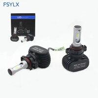 FSYLX PSX24W LED Headlight Conversion kit for Subaru XV Logan impreza PSX24W DRLLED fog lamps PSX24 Car LED Headlamp Headlight