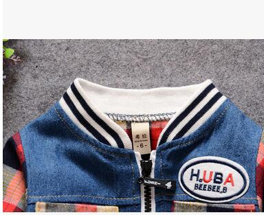 2016-Small-childrens-wear-the-spring-cowboy-splicing-cardigan-T-shirt-piece-coat-The-boy-han-edition-leisure-coat-3