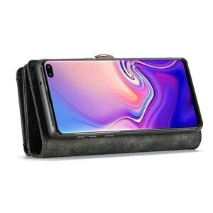 Image 5 - Purse Polsbandje Telefoon Case Voor Samsung Galaxy S20 Plus Ultra S10 5G Plus S10e Coque Luxe Lederen Fundas Cover accessoires Tas
