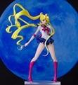 Sem pintura Anime Garagem GK Figura de Resina Kit Modelo de Cristal Sailor Moon Tsukino Usagi