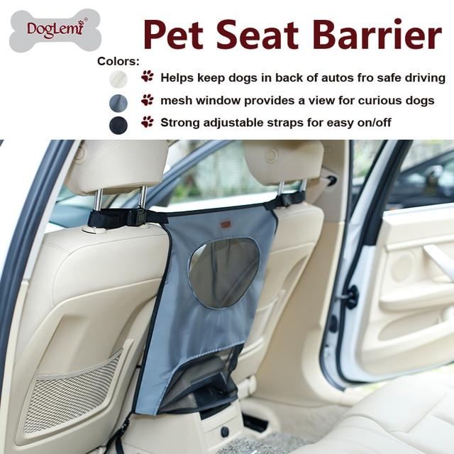 Pet Back Seat Car Dog Barrier Cat Car Fences for Truck SUV Travel Accessories Mesh Gate for Backseat Dog Safety
