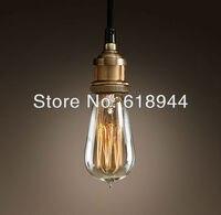 Vintage Pendant Lights With Edison Bulb E26 E27 Fireworks Filament Bulb Pendant Lighting Decorations For Home