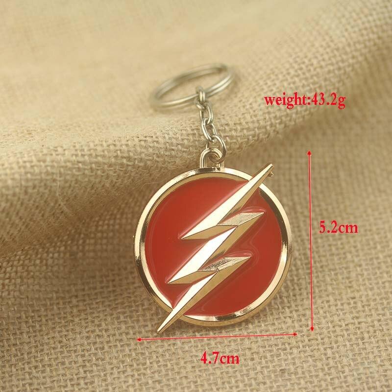 DC Comics Super Hero The Flash Keychain Multi Style The Flash ...