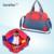 2016 Nuevos 2 colores bolso de la madre bolsas de Pañales para mamá cochecito de bebé bolsas de pañales organizador de gran capacidad de maternidad momia bolsa