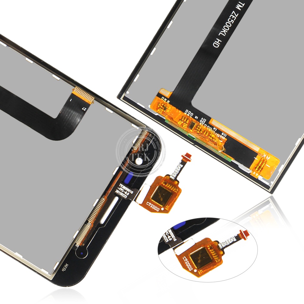 Image 5 - Original For ASUS Zenfone 2 Laser ZE500KL LCD Display Touch Screen with Frame ASUS ZE500KL ZE500KG Z00ED Display WarrantyMobile Phone LCD Screens   -