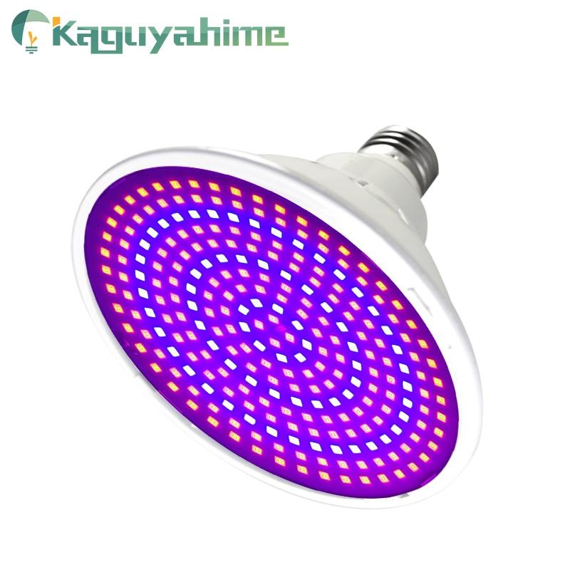 Kaguyahime Full Spectrum LED Plant Grow Light Bulb E27 85-265V LED Plant Lamp Indoor Seedlings Flower Hydroponics Grow Tent Box