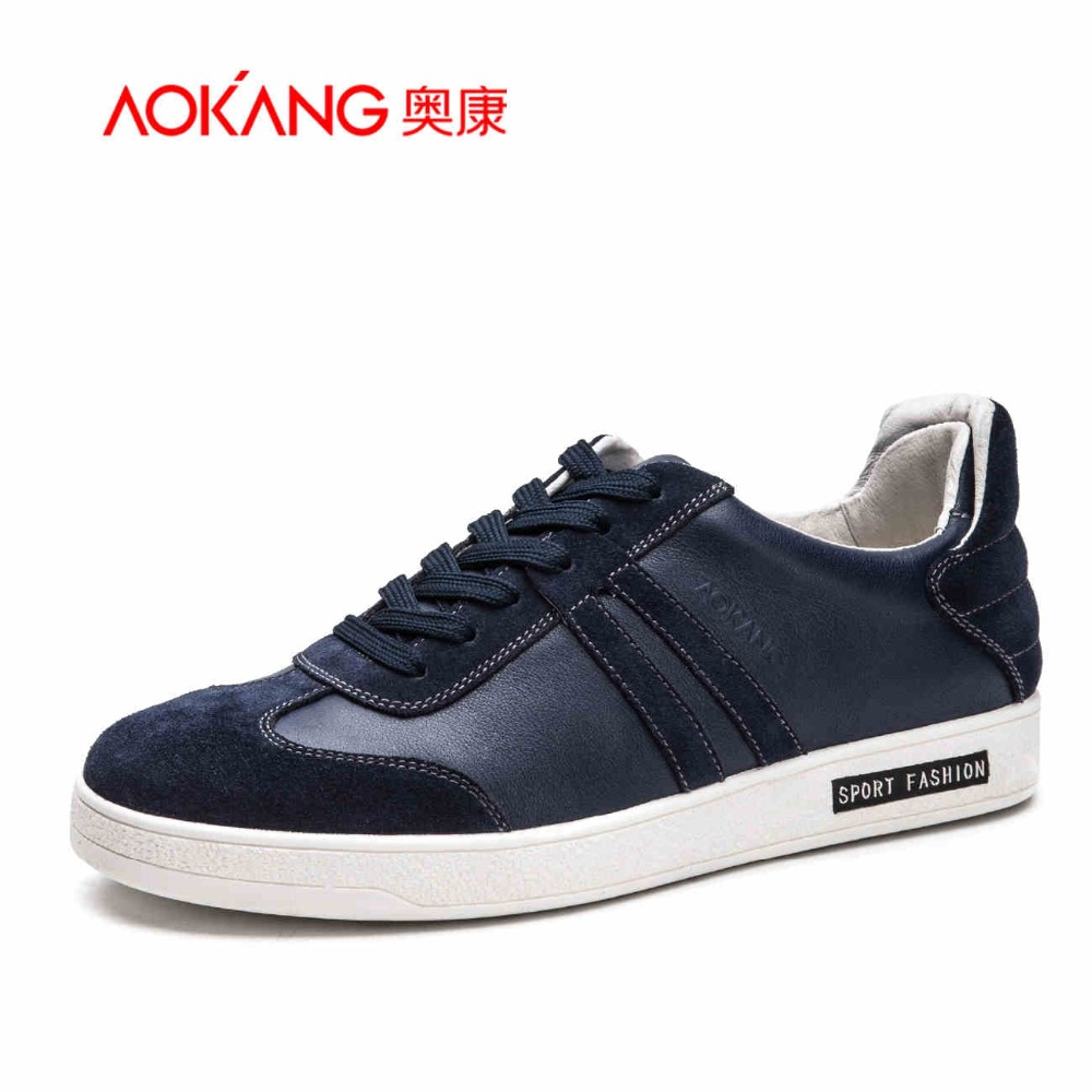 AOKANG Free shipping 2017 Casual Shoes For Men Fashion Recreational Shoe Male Canvas Man Spring  Man Casual Shoes Men's Shoes new 2016 medium b m massage top fashion brand man footwear men s shoes for men daily casual spring man s free shipping
