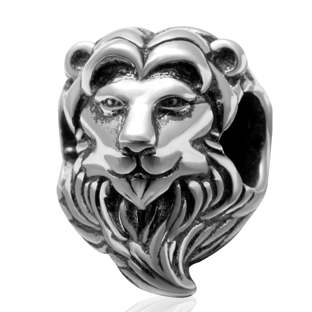 Lion King Charm Bead Original 100% Authentic 925 Sterling Silver Beads Fit for Pandora Charms bracelets