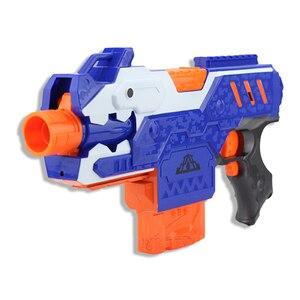 Image 2 - Jouet pistolet électrique pour garçons, balle souple, costume pour Nerf fléchettes, Blaster, fusil de Sniper, pour tirer en extérieur, modèle 2020