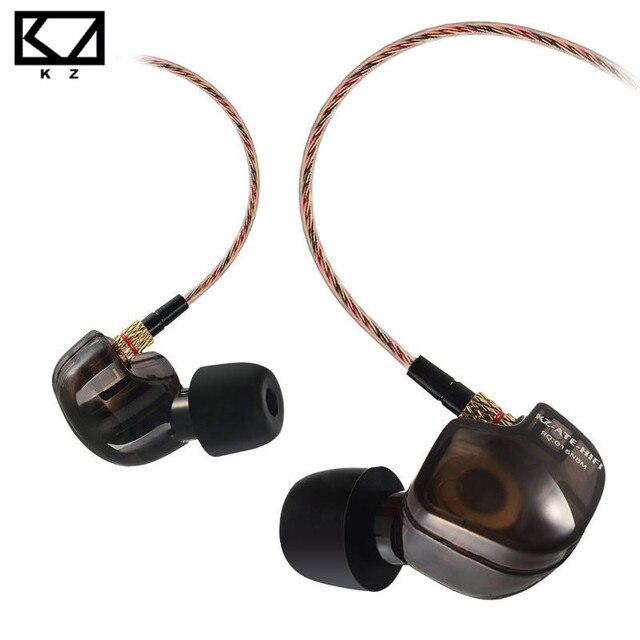 KZ ATE ATR Медь динамиков спортивные Hi-Fi наушники с микрофон для телефона