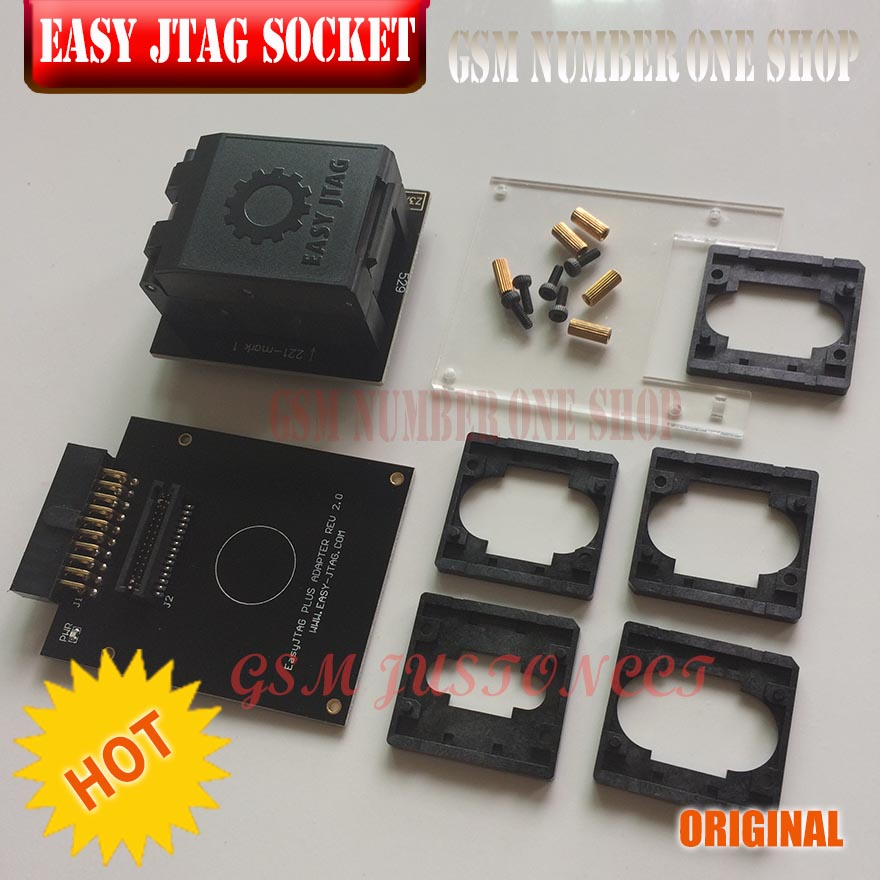Easy Jtag Plus Box Emmc Socket (bga153/169, Bga162/186, Bga221, Bga529) Mild And Mellow