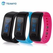 Teamyo до Смарт браслеты шагомеры фитнес трекер сна монитор напоминание умный Браслет для Andriod IOS