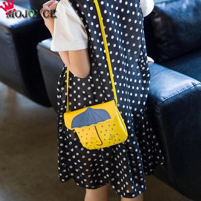 d6eee1f1c442e 2018 Women Bag Kids Umbrella Mini Flap Hasp Crossbody Handbag Girl Students  PU Leather Small Shoulder Messenger Bag Phone Bag