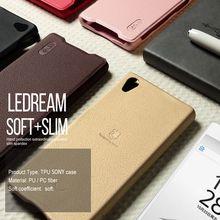Для Sony Xperia Z5 Premium Кожаные Чехлы LENUO Ledream Кожа Фолио Откидная Крышка для Sony Xperia Z5 Premium/Dual
