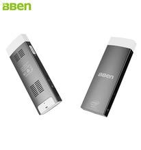 Bben 2 ГБ + 32 ГБ EMMC Мини-ПК Окна 10 и Android 5.1 Z8350 четырехъядерный процессор немой вентилятор Wi-Fi Bluetooth4.0 Intel stick mini PC компьютер