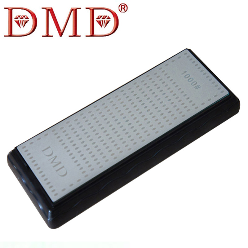 1PC High Quality DMD Double Sided Diamond Coated whetstone font b Knife b font Sharpening Stone