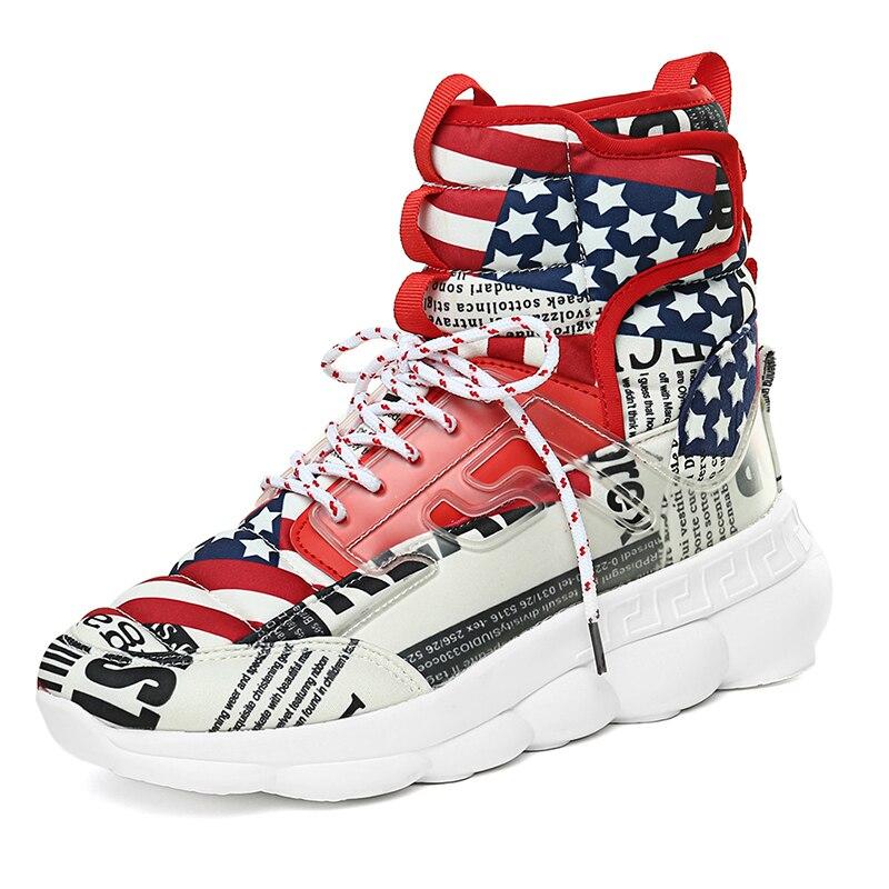 Offre spéciale Respirant chaussures hautes INS Dope Sneaker chaussures de papa Pour Hommes Hommes de Perturbateur Maladroit Sneakers Triple S chaussures décontractées