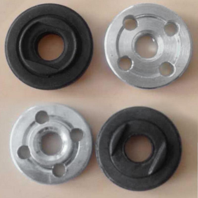 1 Pair Replacement Electrical Angle Grinder Fitting Part Inner Outer Flange for Makita 9523 Angle Grinder Fitting