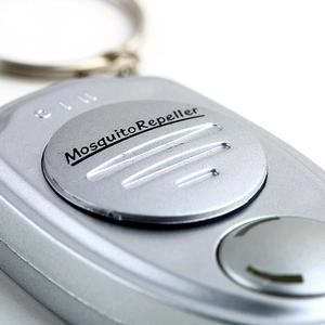 Image 3 - 2019 New Ultrasonic Mosquito Repellent Keychain Mosquito Killer Electronic Mosquito Repellent Silver Mini Mosquito Repellent