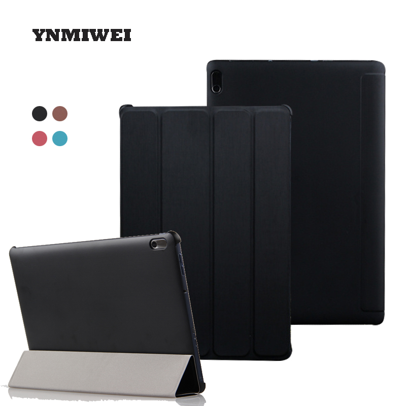 все цены на For Lenovo A7600 Universal For Lenovo A10-70 A10-80HC Tri-fold Folding Shockproof Leather Cover Full Coverage Shell YNMIWEI
