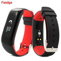 Smart Bracelet Heart Rate Blood Pressure Fitness Activity Monitor Bracelet Waterproof Fuelband Smart Band for Android ios