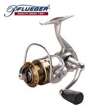 Pflueger بكرة صيد عالية الغزل SUPSP25X 30X35X7 + 1BB الكارب الصيد بكرة المياه المالحة الغزل عجلة Carretilha دي Pesca