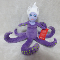 Original Plush Ursula S Younger Sister Morgana Plush Toys Sea Witch Octopus The Little Mermaid 2