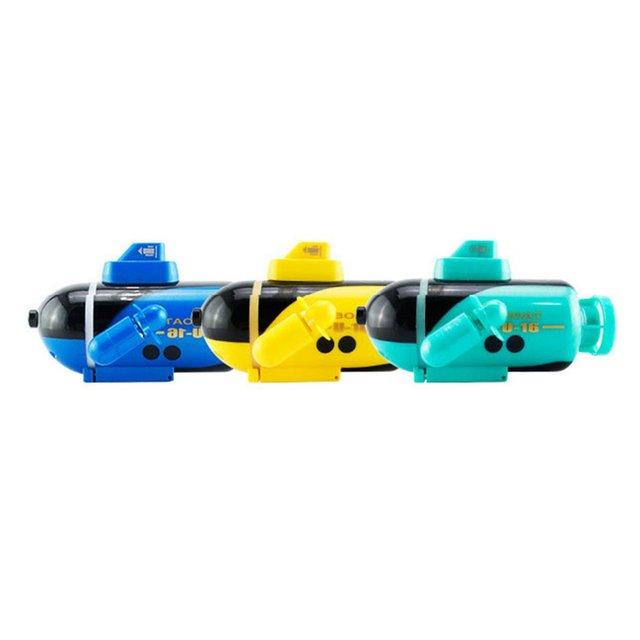 777-216 Mini RC Submarine Speedboat Remote Control Pigboat Simulation Model Toy Radio Control Wireless RC Submarine Model Toy
