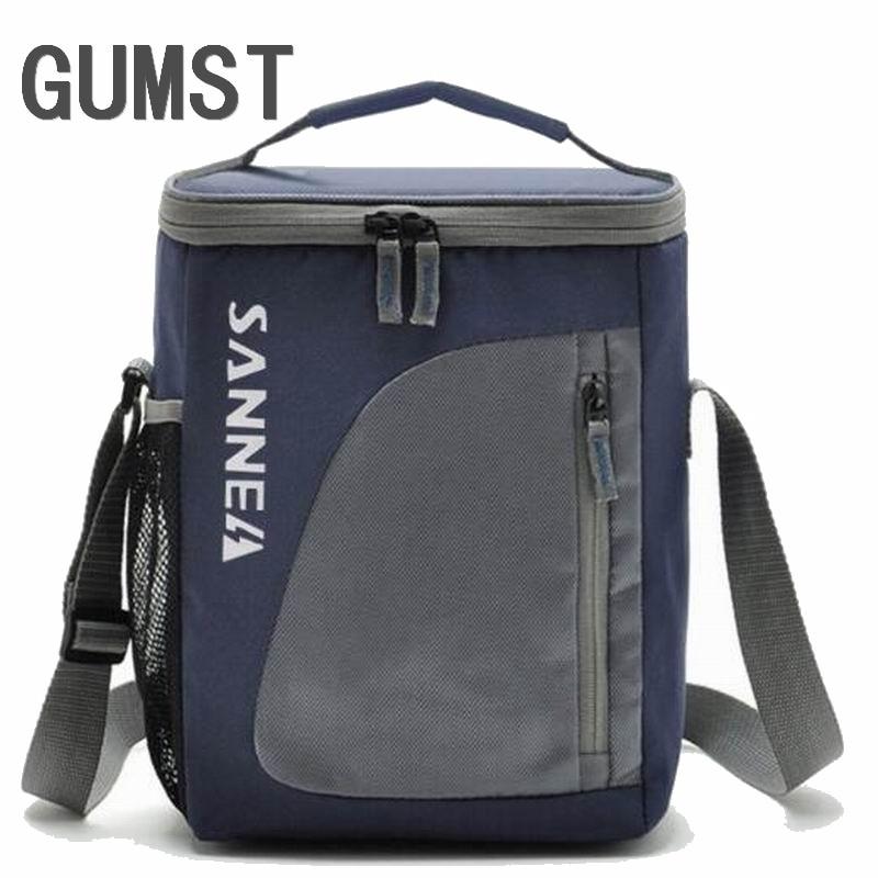 e5fae9b8e81b 8.8L кулер портативный изолированный обед мешок нейлон термальность  Ланчбокс еда для мужчин Picinic сумка сумки bolsa almuerzo розовый Q278