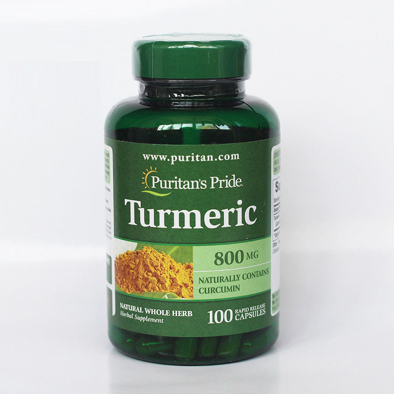 Free shipping Turmeric 800 mg Naturally contains curcumin 100 pcs vitex fruit 400 mg 100 pcs free shipping