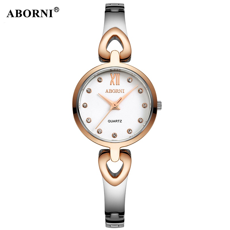 ABORNI 2019 Luxury Diamand Bracelet Women Watches Steel Casual Ladies Quartz Watch Student Girl Female Clock relogio femininoABORNI 2019 Luxury Diamand Bracelet Women Watches Steel Casual Ladies Quartz Watch Student Girl Female Clock relogio feminino