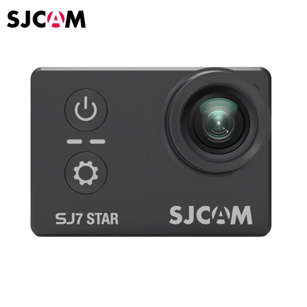 SJCAM SJ7 STAR caméra de mouvement extérieure étanche DV caméra de sport prise de vue aérienne plongée Anti-secousse caméra HD 4 K caméra de sport