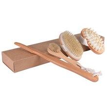 3PCS/Set Exfoliating Home Face Massage Durable Natural Brist