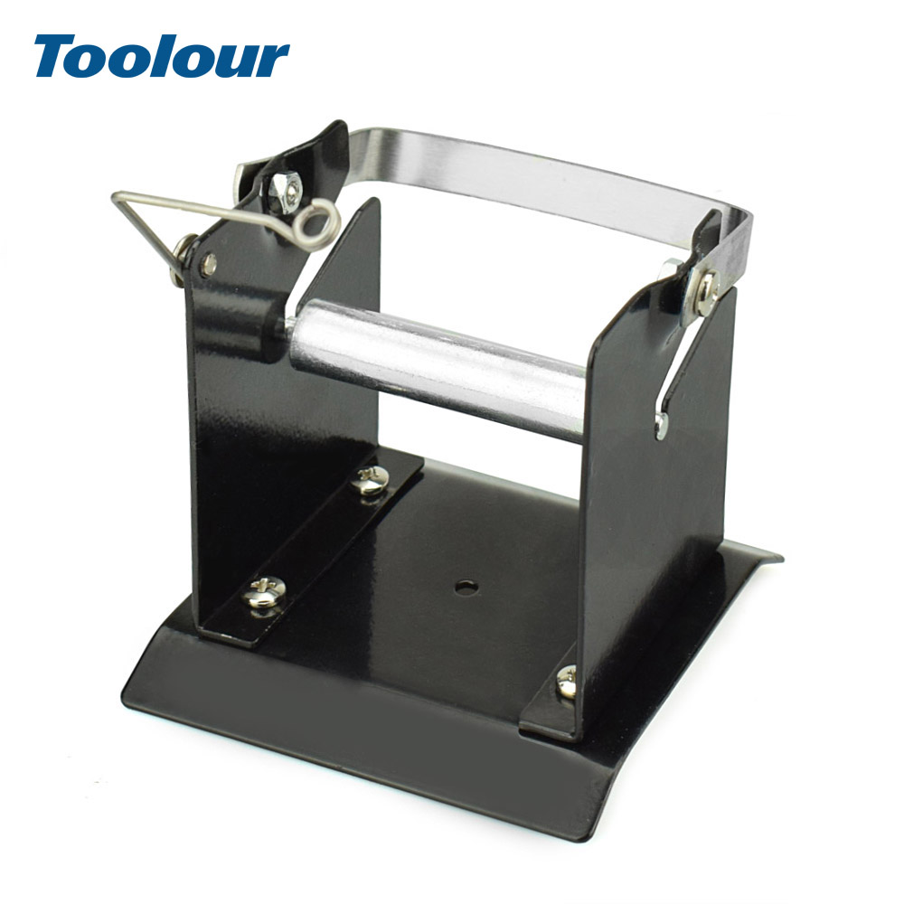 Toolour All Metal Heavy Duty Tin Wire Frame Stand Welding Accessories Tool  High-Strength Soldering Tin Holder BGA Rework Tools