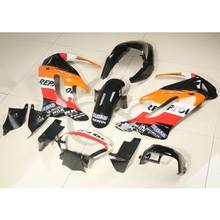 Motorcycle Motorbike Painted Hand Made Repsol ABS Fairing Bodywork Kit For Honda VTR1000F 1997-2005(China)